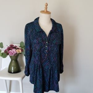 New Directions Mosaic Blouse
